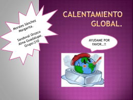Calentamiento global - equiipo-15