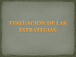 5.Evaluacion de las Estrategias - upn283