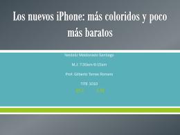 Los nuevos iPhone: más coloridos y poco más baratos