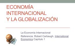Economía Internacional Capítulo 1