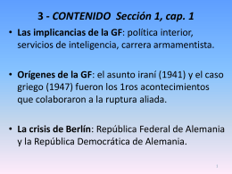 POWER POINT SEGUNDA PARTE. GF - SMiguel