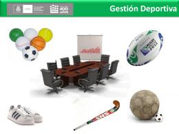 Gestión Deportiva