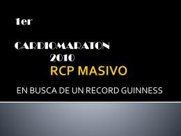 RCP MASIVO - Centro Universitario de Ciencias de la Salud