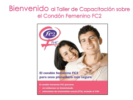 Slide 1 - FC2 female condom