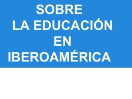 Miradas sobre la educación en Latinoamerica