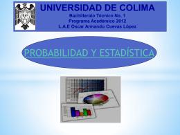 Probabilidad y estadística - CIAM