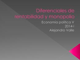 Ganancia - Alejandro Valle Baeza