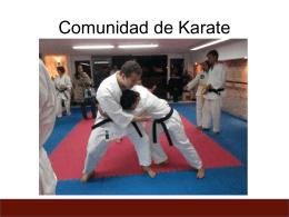 Comunidad de Karate