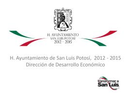 Presentacion Ayuntamiento SLP