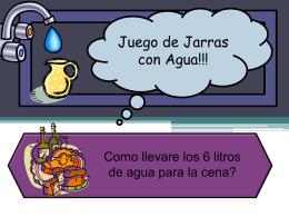- Proyecto #1 Juego de Jarras!