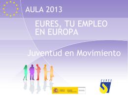 Movilidad, jóvenes y herramientas europeas. Eures, tu