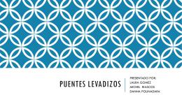 PUENTES LEVADIZOS - Tecnologiando-Ando