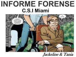 INFORME FORENSE