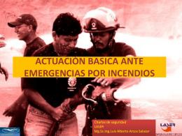 Basica incendios - Luis Alberto Arcos Salazar