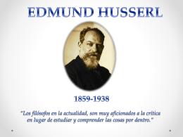 Edmund hussserl.