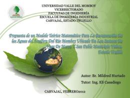 tmg96hponencia2012 - Universidad Valle del Momboy