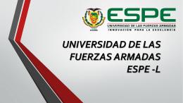 UNIVERSIDAD DE LAS FUERZAS ARMADAS - Automotriz