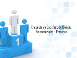 Evaluación Clínica Empresarial Patronos