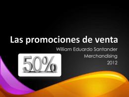Las promociones de venta
