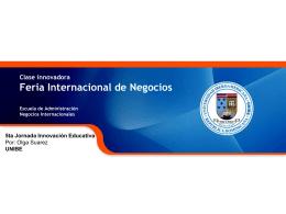 Feria de Negocios Internacionales