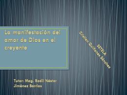 La manifestación del amor de Dios en el creyente