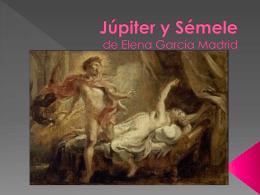 Júpiter y Sémele de Elena García Madrid