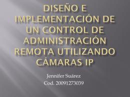 Diseño e implementación de un control de administración remota