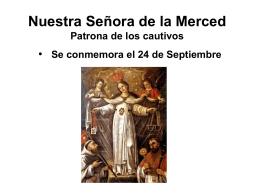 Nuestra Señora de la Merced María Madre de Dios de la Merced