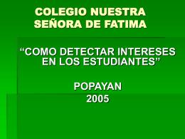 COLEGIO NUESTRA SEÑORA DE FATIMA
