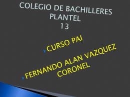COLEGIO DE BACHILLERES PLANTEL 13 bullying