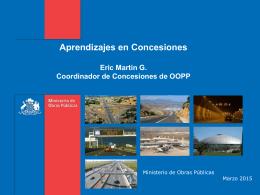 SISTEMA DE CONCESIONES CHILENO