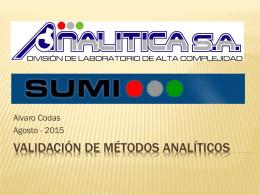 Curso de Validación SUMI 2015