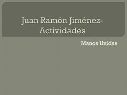 Juan Ramón Jiménez- Juegos