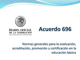Acuerdo 696 - tecnologiaytecnica85