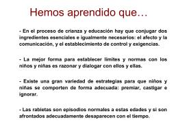 ¿Qué hemos aprendido? - Escuela Andaluza de Salud