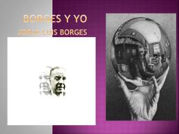 Borges y yo - Westport Public Schools | Home