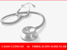 casos fibrilación auricular