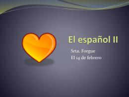 El español II