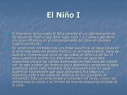 El Niño 1 - Universitat de Barcelona
