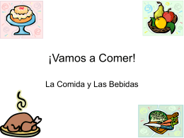 ¡ Vamos a Comer! - Mahopac Central School District