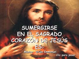 Sumergirse en el Sagrado Corazón de Jesús