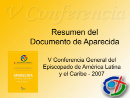 Resumen del Documento de Aparecida
