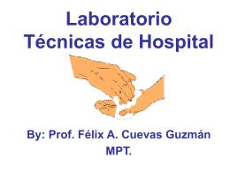 Laboratorio Tecnicas de Hospital