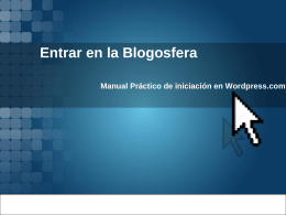 Manual Gráfico de Wordpress