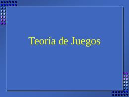 Teoria de Juegos - UCEMA | Universidad del CEMA