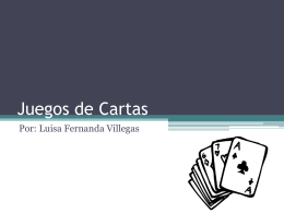 Juegos de Cartas - IHMC CmapServer 5.04