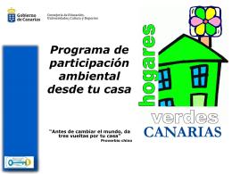 COMERCIO JUSTO - Gobierno de Canarias