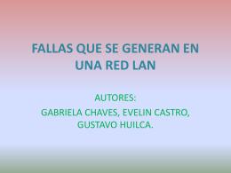 FALLAS QUE SE GENERAN EN UNA RED LAN