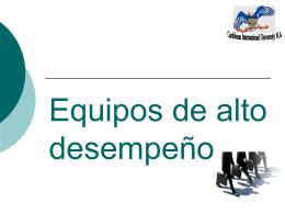 DINÁMICA DE GRUPOS Y EQUIPOS DE TRABAJO