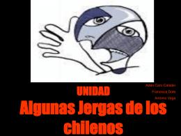 Algunas Jergas de los chilenos